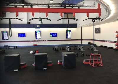 Very Stylish Modern Gym Ready For A Workout Session - Commercial Builders Illawarra