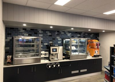 Inside Of The Service Station - Commercial Builders Illawarra
