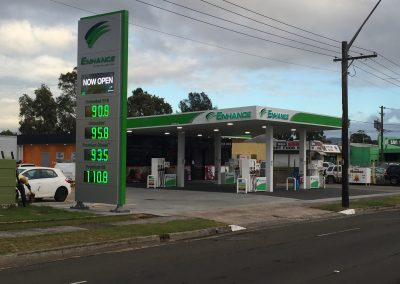 Barrack Heights Service Station - Commercial Builders Illawarra