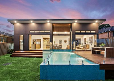 Modern Stylish Large Home With Swimming Pool - Builders Illawarra