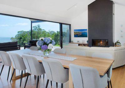 Modern Open Plan Dining & Lounge Area - New Home Builders Illawarra - Builders Illawarra