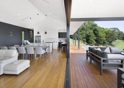 Modern Open Plan Home Alfresco Dining Kitchen - New Home Builders Illawarra - Builders Illawarra
