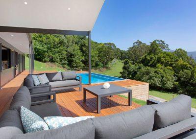 Beautiful Decked Alfresco - New Home Builders Illawarra - Builders Illawarra