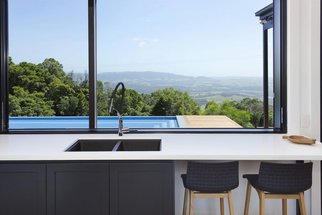 Stunning Kitchen With An Amazing View – New Home Builders Illawarra – Builders Illawarra