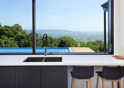 Stunning Kitchen With An Amazing View - New Home Builders Illawarra - Builders Illawarra