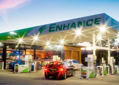 Service Station - Commercial Builders Illawarra