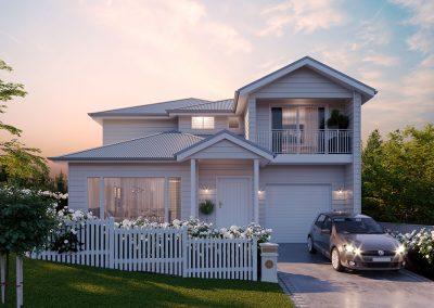 Crisp White New Two Story Build - New Home Builders Illawarra - Builders Illawarra