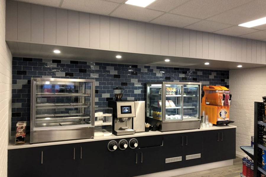 Nowra Service Station - Commercial Builders Illawarra