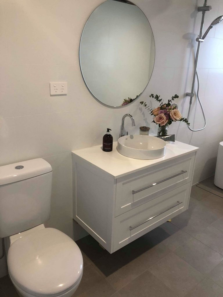 New Bathroom – Builders Illawarra
