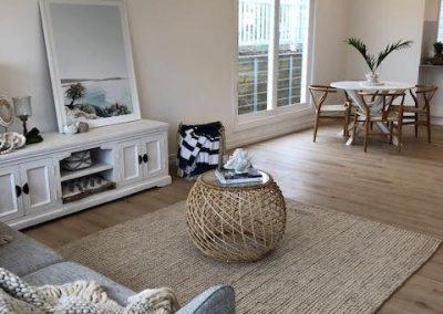 Homely Modern Designer Family Room - Builders Illawarra
