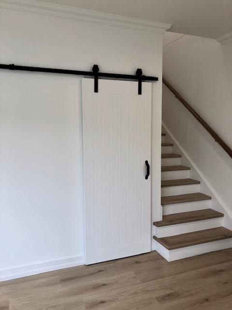 Luxurious Hanging Bathroom Door Closed – Builders Illawarra