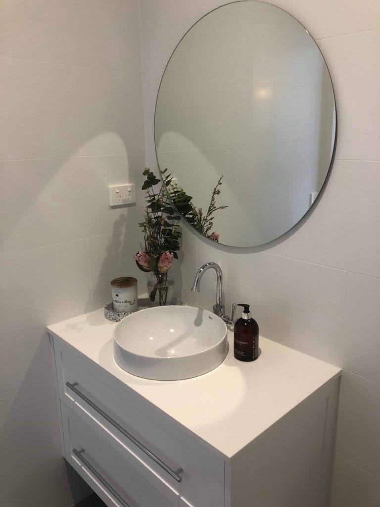 Luxurious Vanity In New Bathroom – Builders Illawarra