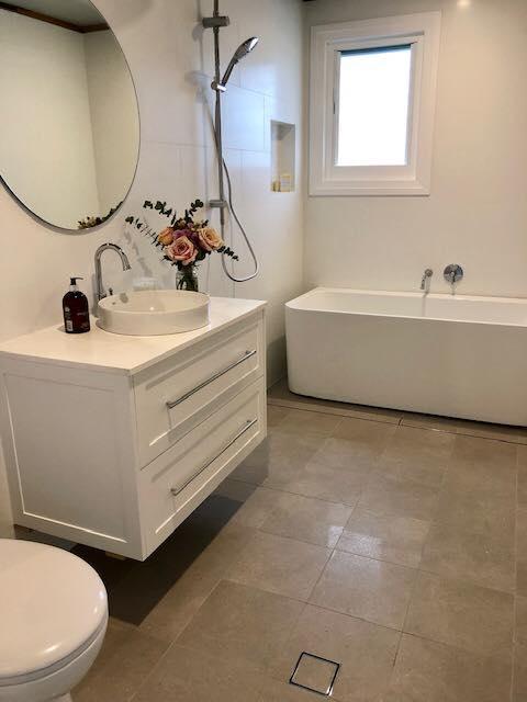 Beautiful New Bathroom – Builders Illawarra