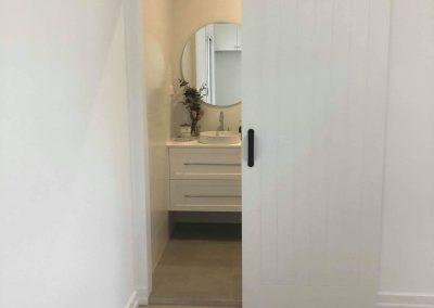 Door Opening To Bathroom - Builders Illawarra